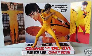BRUCE LEE - GAME OF DEATH Action Figure Display Diorama on Custom Design Diorama