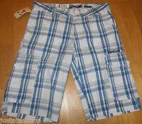 Quiksilver boy summer shorts 11-12 y BNWT 2 designs blue check or skateboards
