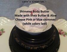 3 oz Shimmer Primrose Body Healing Body Butter-Buy 3 Get 1 Free-Choose Scents!
