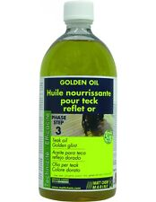 GOLDEN OIL - HUILE POUR TECK REFLET OR MATT CHEM BIDON 5L 943M.5