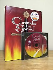 Chronicles of the Sword | PC CD-ROM Game | Big Box | Complete