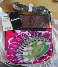 Désigual sac à bandoulière Poppy flower imprimé floral  avec étiquettes
