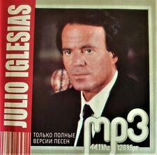 JULIO IGLESIAS  MP3 COLLECTION   CD