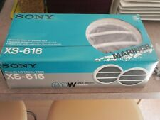 Pair of New Marine Boat Speakers - Sony XS-616 60W