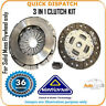 3 IN 1 CLUTCH KIT  FOR TOYOTA AVENSIS LIFTBACK CK9832S