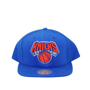 New York Knicks French Terry Snapback Mitchell and Ness