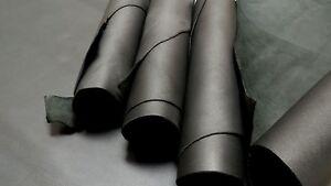 BLACK LEATHER COWHIDE TOP GRAIN MEDIUM TEMPER 18 + sqf  2/3 oz
