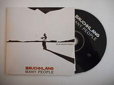 BAUCHKLANG : MANY PEOPLE [ CD ALBUM PROMO PORT GRATUIT ]