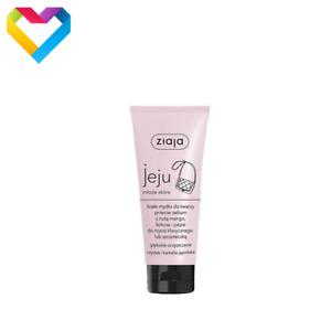 Ziaja Jeju PINK White Face Soap Face Wash Cleansing Sebum Oily Skin 75ml 00610