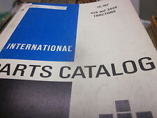 International 424 & 2424 Tractors Parts Catalog Manual