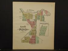 Wisconsin, Dane County Map, 1911, South Madison, Double Sided, Z5#55