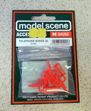 New Model Scene 5190 Telephone Boxes N GAUGE