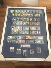 NRL Framed Collectables Cards 2008 Footy Tazo
