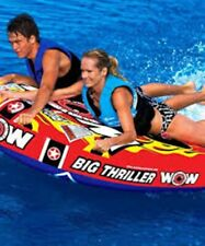 New Wow Watersports 18-1020 Super Thriller Deck Inflatable Tube
