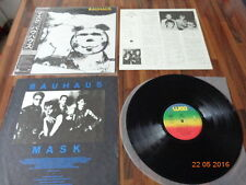 "BAUHAUS  ""MASK"" - JAPAN LP  + OBI - 1981"