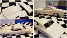 Resin Rear Spoiler & Bubble Hood Combo for '69 Camaro Revell 1/25. HOT!