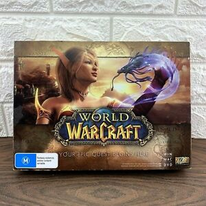 World of Warcraft Package Epic RARE Big Box PC Game 2013 Excellent  AUS Seller