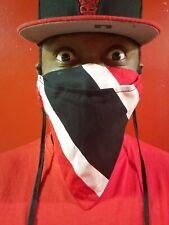 Trinidad and Tobago FLAG Rebels Face Mask with 4x FILTER Handmade Bandanna