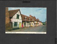Vintage Constance Colour Postcard  Weavers Cottage  Lavenham Suffolk unposted