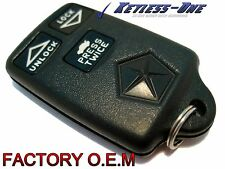 93-97 CHRYSLER, DODGE, EAGLE FACTORY TRW OEM KEYLESS ENTRY REMOTE 3 BUTTON TRUNK