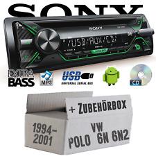 Sony Radio für VW Polo 6N + 6N2 CD/MP3/USB Autoradio-Einbauset 12V PKW KFZ Radio
