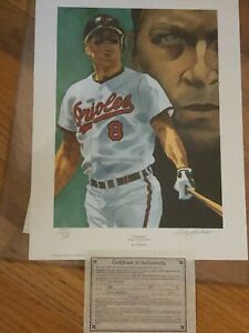 CAL RIPKEN Poster by Rick Jackson, signed by the artist.