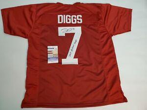 Trevon Diggs autographed Alabama maroon jersey-JSA COA