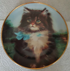 """""""Far From Home"""" by Adrienne Lester Ltd Edition plate No C42860- Charity Sale"""