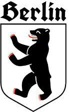 Aufkleber Berlin alt deutsche Schrift Fraktur Autoaufkleber altdeutsch Sticker
