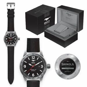 Mustang 50 YEARS Shinola Watch - Very Rare Collectible #964/1000 Free Shipping!