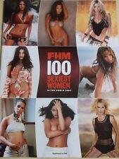 FHM 100 Sexiest Women In The World 2002 JENNIFER LOPEZ HEIDI KLUM CINDY CRAWFORD