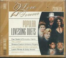 VARIOUS - Country. Popular lovesongs duets (2000) CD