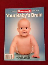 Newsweek Magazine Special Edition Your Baby's Brain April 2015 Science & Infant