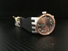 Invicta 12794 DNA Elegant Copper Dial Black Polyurethane Strap Mens Watch