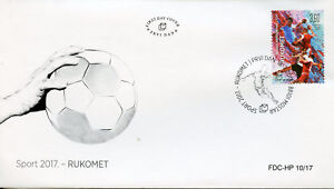 Bosnia & Herzegovina 2017 FDC Handball 1v Set Cover Sports Stamps