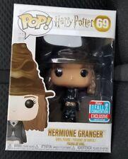 HERMIONE GRANGER W/ SORTING HAT Funko Pop Potter #69 2018 NYCC Barnes Exclusive