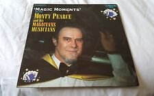 """Vinyl Lp 12"""" - Magic Moments with Mony Pearce and his Musician. Danson Records."""