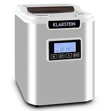 Machine à glaçons Électrique Acier Inoxydable COMMERCIAL Nappe 12 kg/ jour