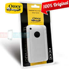 Original 100% Authentic Otterbox iPhone 3GS 3G Commuter TL Case White Hard Cover