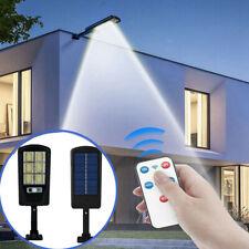 New listing 240Led Outdoor Solar Street Wall Light Sensor Pir Motion Led Lamp +Remote Garden