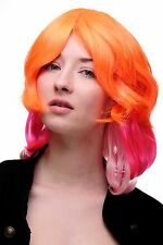 perruque Cosplay Cosplayperücke Rose Orange Platine PERRUQUE karan Raie SA056