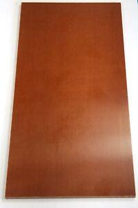 "Natural Brown Linen Micarta (1) .250 x 6"" x 12"" Knife Handle Material Sheet"