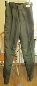 Tact Squad 7003G Work Uniform Long Pants Trousers Green Size 30 Unhemmed NEW