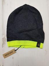 a85d1e1822a RIVER Island Winter Hat Unisex grey yellow Ski Snow present gift ladies men  BNWT