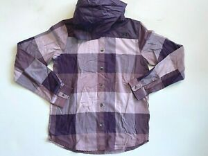 Under Armour New Tradesman Flannel Hoodie Shirt Women's Small 1365695 MSRP $75