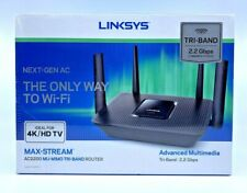 Linksys EA8300 Max Stream Dual Band Wireless Router - Black Open Box