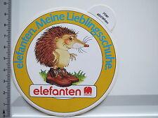 Aufkleber Sticker Elefanten - Schuhmarke - Schuhe - Igel (5703)