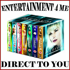 MEDIUM - COMPLETE SERIES SEASONS 1 2 3 4 5 6 & 7  **BRAND NEW DVD BOXSET **