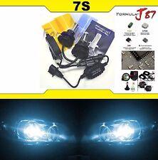 LED Kit 7S 50W 9008 H13 8000K Icy Blue Head Light Bulb Hi Lo Beam Plug Play Lamp