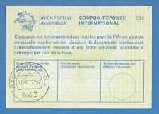 1976 INTERNATIONAL REPLY COUPON BAD HEREFEID 985